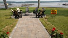 Where would your walkway lead you? Cambridge Pavingstones with ArmorTec can take care of your outdoor living needs with its variety of pavers, steps and kits. Contractor: Marlinski Landscape & Stonework