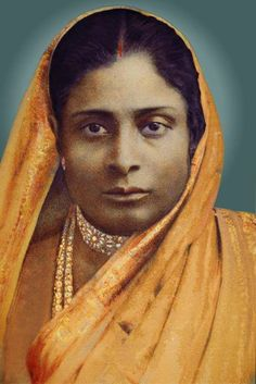 #Yogananda's mother. Oops, not, so not, Old.  Stern, not very heart-opened.