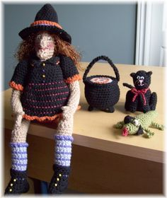 Witch ....PDF Crochet Pattern by KTBdesigns on Etsy, $6.00
