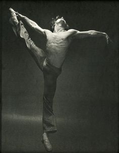 (Baryshnikov) I have an abstract painting of this photo as a skin on my Kindle.