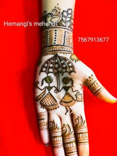 Pretty Henna Designs, Henna Tattoo Designs Simple, Mehndi Designs Book, Indian Mehndi Designs, Stylish Mehndi Designs, Mehndi Designs For Beginners, Mehndi Design Pictures, Wedding Mehndi Designs, Mehndi Designs For Fingers