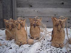 zvoneček z keramiky - Hledat Googlem Cowboy Boots, Burlap, Reusable Tote Bags, Pottery, Picasa, Hall Pottery, Hessian Fabric, Cowboy Boot, Japanese Ceramics