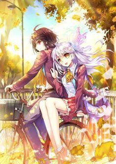 Yuu and Tomori
