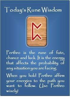 Rune Wisdom : Perthro