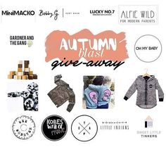 We have come together with so many awesome stores to help celebrate Autumn  We love Autumn & to bring you a giveaway with an amazing amount of store credit & cool products to go to ONE lucky winner!! All you have to do is:  1. Follow all stores taking part in this competition below (You can also take a peak at what we are all giving away)  2. Like this picture (Repost for an extra entry with the hashtag #AutumnBlastGiveaway)  @gardnerandthegang - $100 store credit  @__ohmybaby - 35 store…