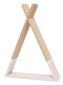 Tipi wandkastje roze hout My Baby Girl, Pink, Nordic Furniture, Moon, Little Princess, Nice Asses