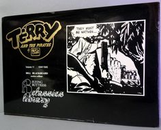 Milton CANIFF TERRY & The PIRATES Vol 11, 1944-1945. Flying Buttress Classics Library Newspaper Adventure Comic Strips Funnies