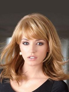 11 Cute Hairstyles With Bangs – Front and Side Bangs ...