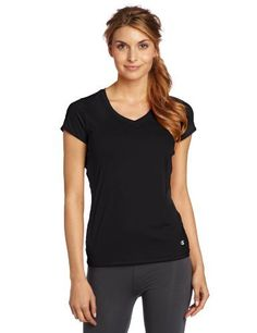 Champion Women's Double Dry Fitness Tee Champion. $9.84. shirts closure. Mesh side panels for ventilation. Moisture management. Not applicable. Body: 88% Polyester/12% Spandex; Mesh Insert: 93% Polyester/7% Spandex. Tag free. Machine Wash. Stretch for ease of movement