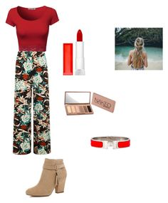 """""""Untitled #51"""" by averyvalclaunch on Polyvore featuring WearAll, Maybelline, Urban Decay, Hermès and River Island"""