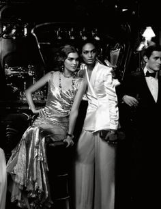 Cafe Society Karl Lagerfeld1 Harpers Bazaar Korea April 2012: Café Society by Karl Lagerfeld