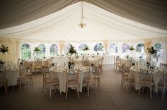 Ideas for decorating a small marquee - wedding planning discussion ...