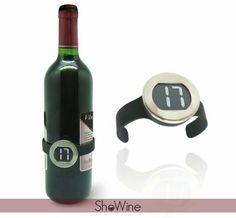 Wine temperature anyone? I think I'm running a fever!