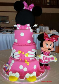 minnie mouse and dasy and cake - Google Search