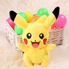 Pokemon GO New 8.6inch Cute Soft Plush Stuffed Toys Doll Cartoon Animal Children Kids Baby Gift Toys Yellow | cndirect.com