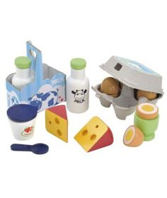 Play Food & Shopping   Kids Toy Food, Cash Register & Trolly   ELC