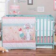 Found it at Wayfair - Wild Forever Trend Lab 3 Piece Crib Bedding Set