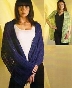 Crocheting Patterns, Knit Or Crochet, Knitted Shawls, Yarns, Country, Knitting, Projects, Sweaters, Beautiful