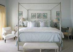 cream and blue #blue #cream #bedroom #calm
