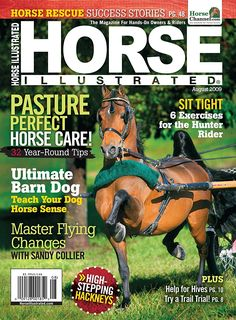Horse Illustrated Horse Illustrated serves hands-on horse owners by promoting the best in horse care, riding, and training. It's the premier monthly source of Horse Magazine, Magazine Rack, Hunter Horse, Animal Magazines, Horse Rescue, Horse Care, Animals And Pets, Equestrian, Your Dog