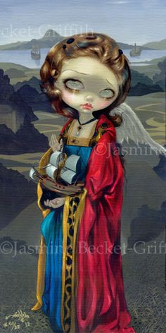 A Ships Angel by Jasmine Becket-Griffith