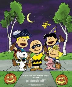 Halloween Peanuts cartoon via www.Facebook.com/Snoopy