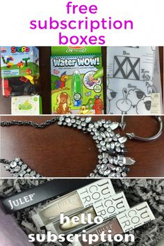 Free Subscription Boxes - Monthly Subscriptions & More 22518066864822649 Subscriptions For Kids, Beauty Box Subscriptions, Free Stuff By Mail, Get Free Stuff, Cheap Subscription Boxes, Freebies By Mail, Kiwi Crate, Free Things, Clay Charms