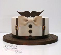 Moustache cake More