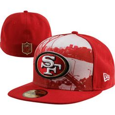 NEW ARRIVAL  San Francisco 49ers NFL 59FIFTY Logo Vista Fitted Hat http    3fe8c00e9406