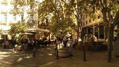 Une place à Valencia