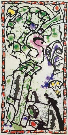 Pierre Alechinsky, Réponse muette, 1988, Han Art