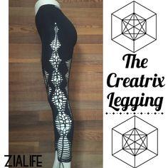 CREATRIX LEGGING Altered Handcrafted Handcut Activewear Performance Exhibition Festival Hoopwear Dancewear Yog Aerial Silk Leggings by Zialife on Etsy