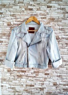 Kup mój przedmiot na #vintedpl http://www.vinted.pl/damska-odziez/kurtki/10203466-kurtka-jeansowa-katana-zamek-zip-swag-must-have-hit-sezonu-przetarcia-lee