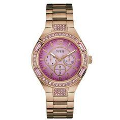 Relógio Guess Feminino Aço Rosé - W0776L3
