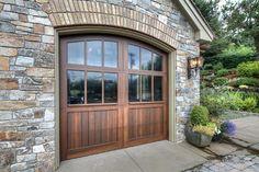 Custom Garage Door finished pictures - garage doors - portland - T. F. Draper Company Add glass