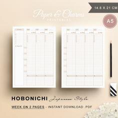Hobonichi-Weekly-Planner-A5-Brown