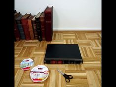 Build your own book table.