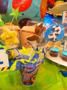 Cookies at a Toy Story party #toystory #party