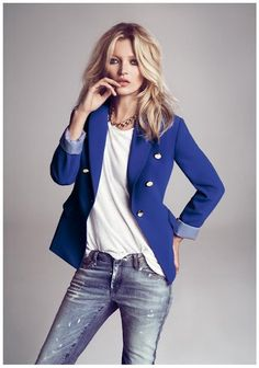 Kate Moss for Mango Fall 2012 Campaign