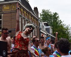 Real Gay pride,  Amsterdam 2017.