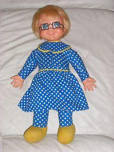"Vintage Mattel 1967 ""TALKING"" MRS BEASLEY DOLL- Loved her! I SO want one!"