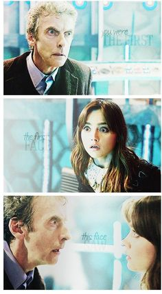 "I hope Clara comes back for twelves regeneration, even tho she wasn't my favorite companion. It's just sorta become a tradition (with Ten seeing rose one last time *cries* and ""raggedy man goodnight"" *cries more*)"