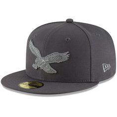 80aba5931e4 Philadelphia Eagles New Era Alternate Logo Tonal League Basic 59FIFTY  Fitted Hat – Graphite