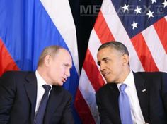 The diplomatic dialogue between Barack Obama and Vladimir Putin has featured the U. president comparing Putin to a bored schoolboy and the Russian leader forcing an irritated Obama to wait a half-hour for a meeting. Vladimir Putin, Barack Obama, Gangster Party, Russia News, Us Election, Presidential Election, Total War, Democratic Party, Political News