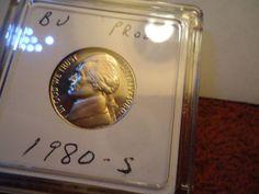 1980-S   //  5C DC (Proof) Jefferson Nickel  //  M-285