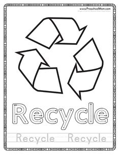 recycle coloring pages recycling coloring books plus