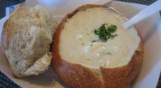 Картофельный суп по старо-чешски в хлебе