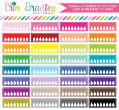 Blank Hydrate Clipart Graphics – Erin Bradley/Ink Obsession Designs