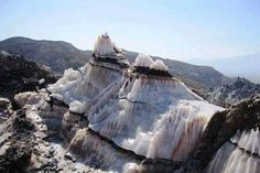 Jashak salt dome, Zagros Mountains, in southwestern Iran | #Geology #GeologyPage #Mountain #Iran  Dashti salt dome or jashak salt dome in the Zagros Mountains, in southwestern Iran. this salt dome there is between Dashti County and Dayyer County in Bushehr Province in Iran. This salt dome in Jashak Mountains near the Gankhak-e Raisi in Kaki and Dashti County. This dome is among the most beautiful and typical of Iran salt domes  Geology Page www.geologypage.com