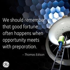 So much truth to this. #Edison #GE